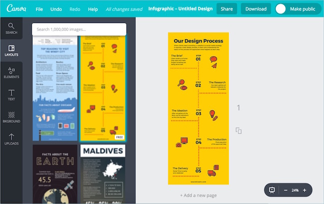 Canva-Online-Infographic-Editor