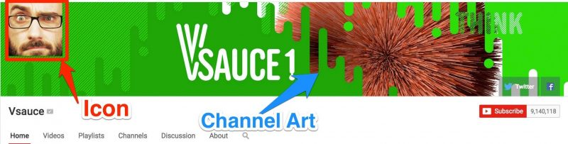 Amazing YouTube Channel Art or Design