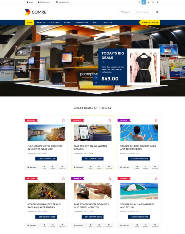 Comre-Affiliate-WordPress-Theme