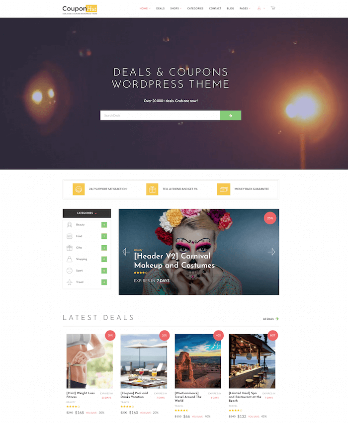 CouponHut Deal WordPress Theme