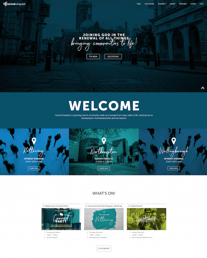 Modern Weebly Site Examples