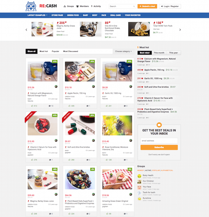 REHub Daily Deal WordPress Theme