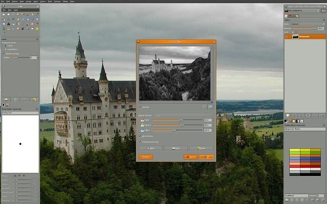 GIMP Image Editing Software