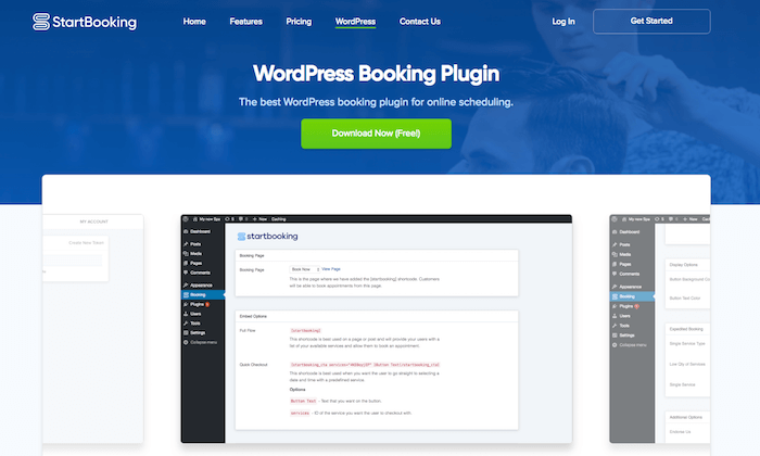 startbooking plugin