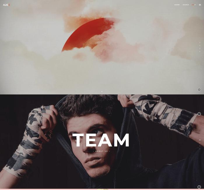 Alice Agency & Freelance Portfolio Theme