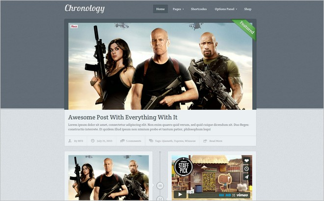 Facebook Timeline Themes