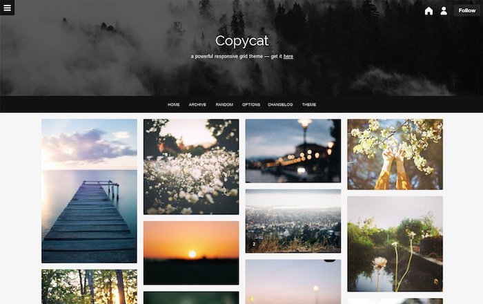 Copycat Tumblr Theme