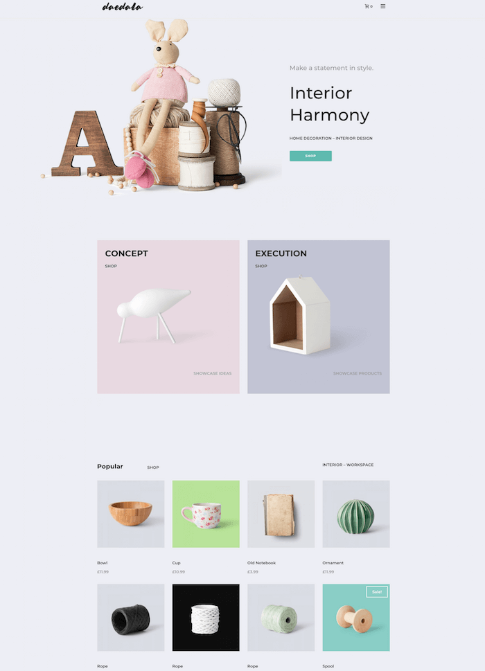 Creative Store Template