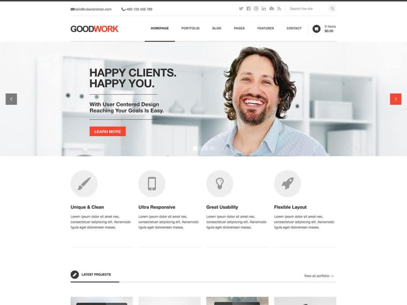 Goodwork WordPress Theme