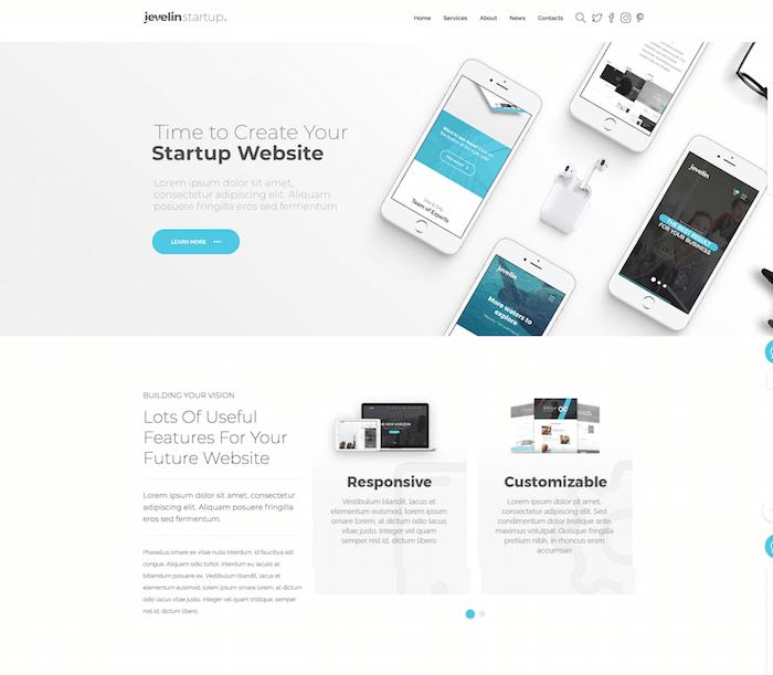 Jevelin WordPress Theme