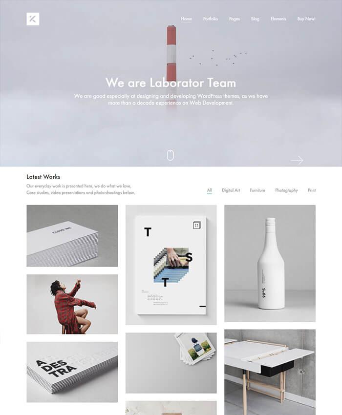 Kalium-Portfolio-WordPress-Theme