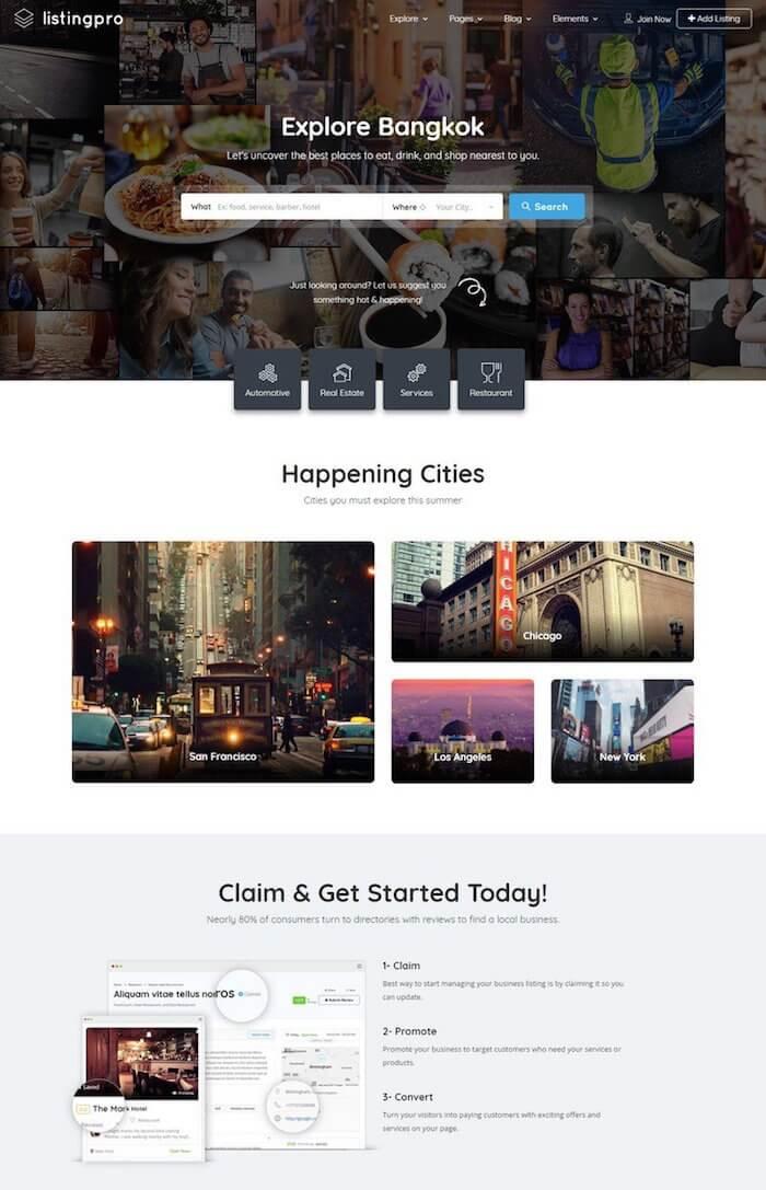 ListingPro Directory WordPress Theme