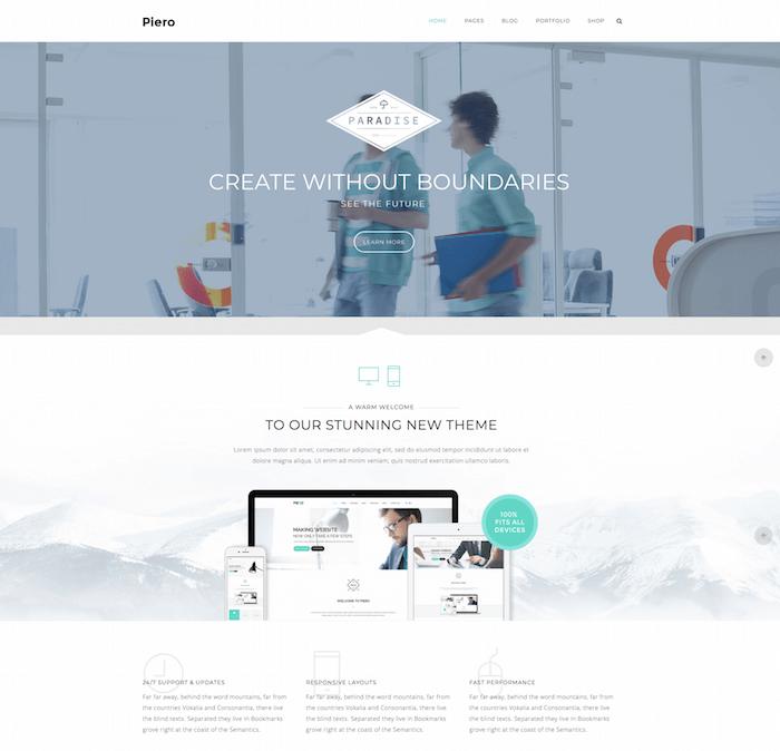Piero WordPress Theme