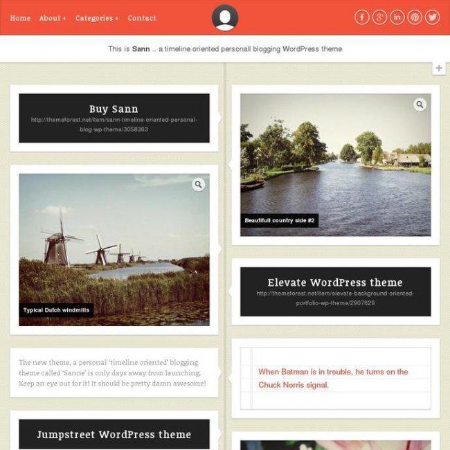 Top WordPress Timeline Style WordPress Themes
