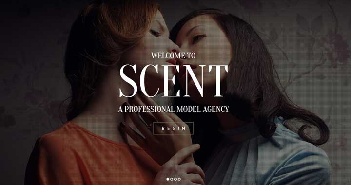 Scent Fashion Model Theme