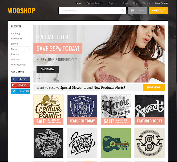 WooShop Theme