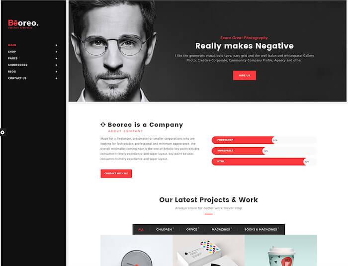 beoreo-vcard-wordpress-website-template
