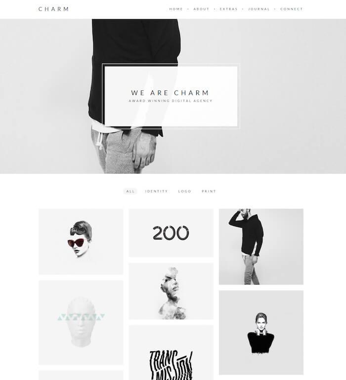 charm-freelance-portfolio-wordpress-theme