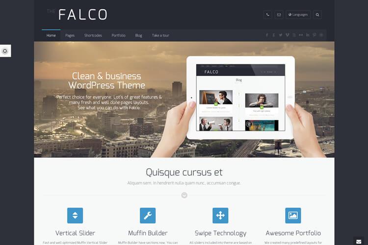 Falco Facebook Style WordPress Theme