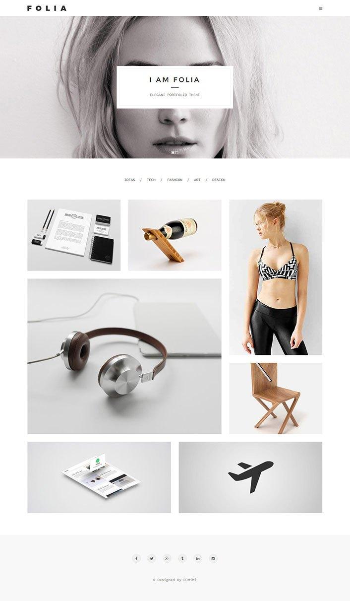 folia-theme-wordpress-portfolio-theme