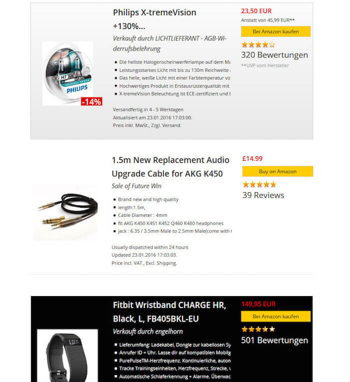 Amaplug Amazon Affiliate Plugin