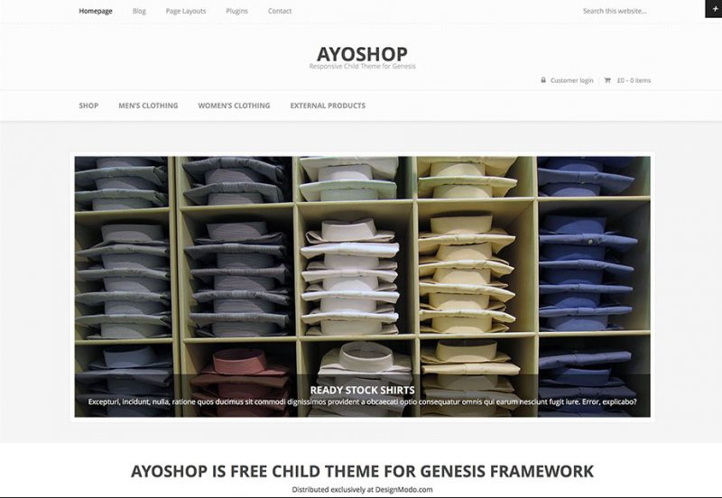 Ayoshop WooCommerce Theme