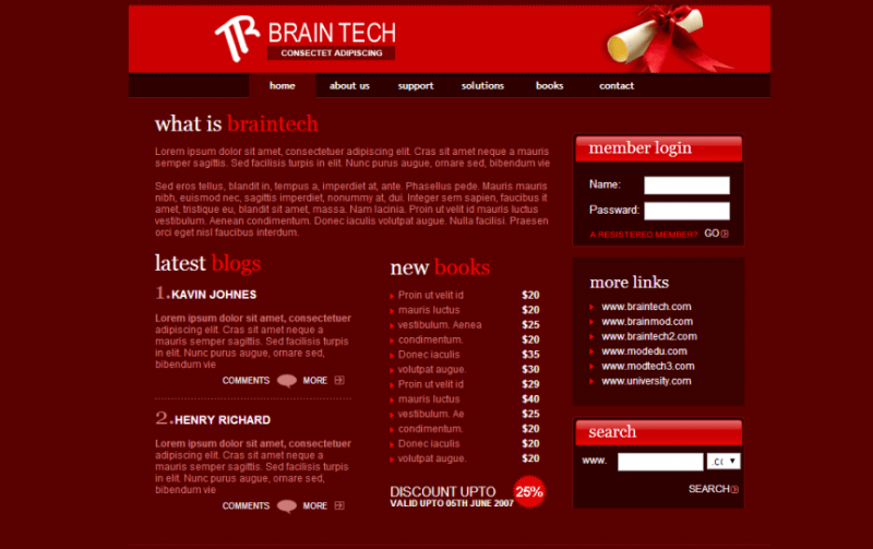 Brain Tech Template