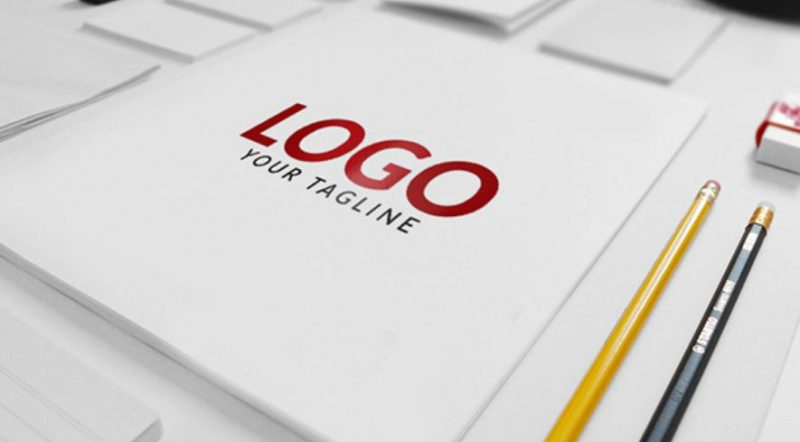 Matte Finish Logo Mockup
