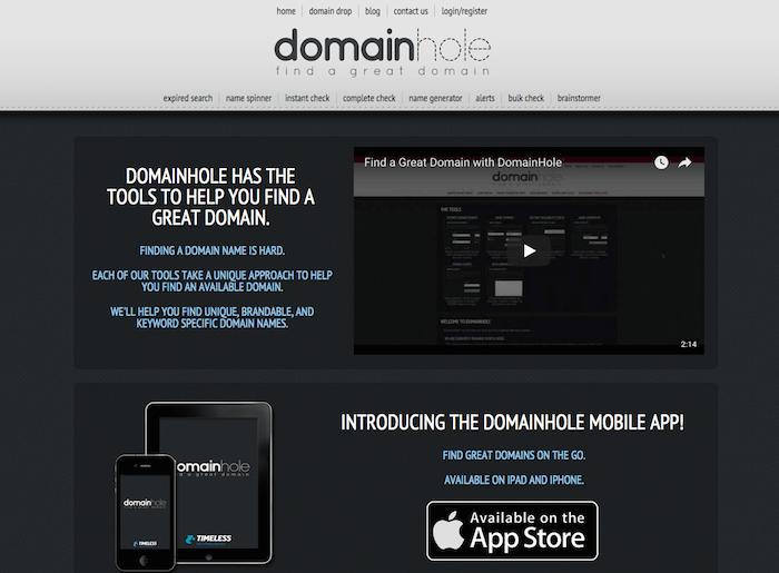 Domain Hole