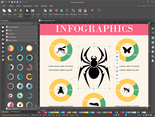 Edraw Infographic Tools
