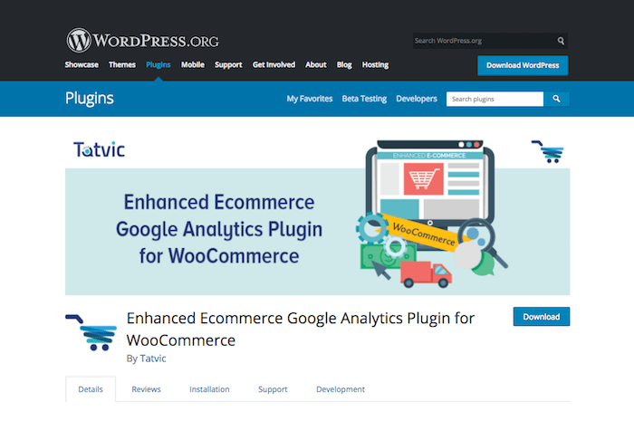 Enhanced Ecommerce Google Analytics Plugin