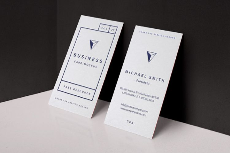 PSD Business Card Mockup Vol27