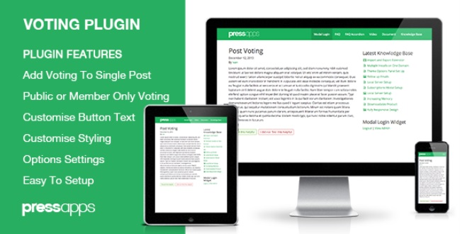 Post-voting-WordPress-plugin