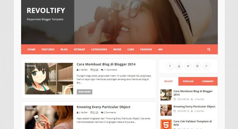 Revoltify Responsive Template