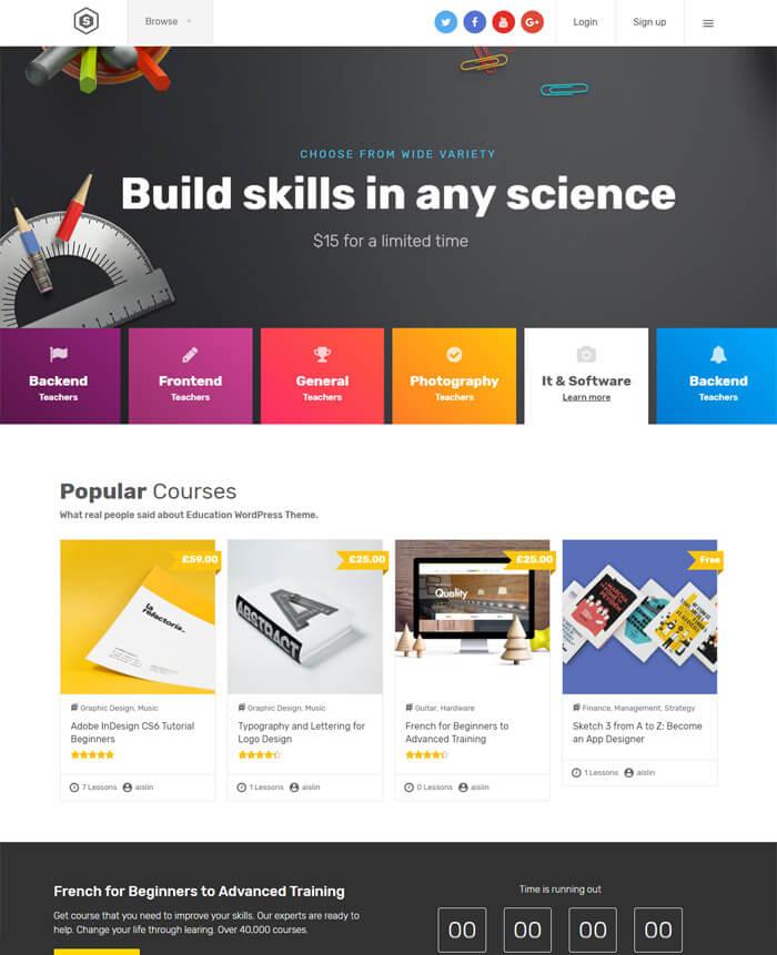 Skilled WordPress Theme