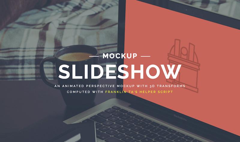 Slider Mockup Presentation