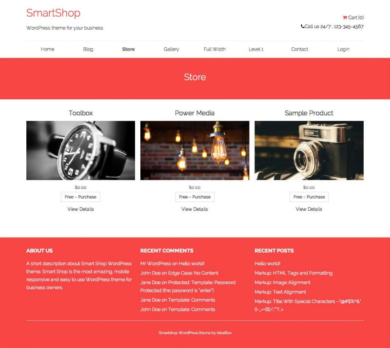 https://wordpress.org/themes/smartshop/