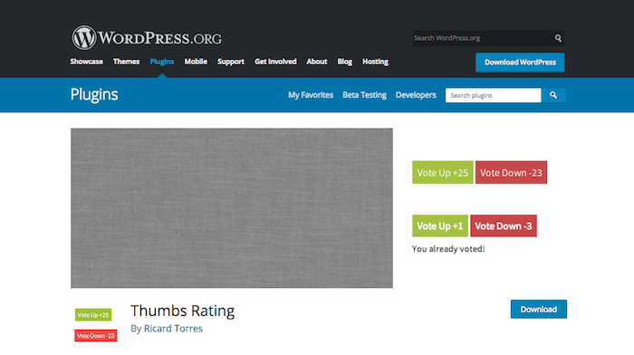 Best post voting WordPress plugins
