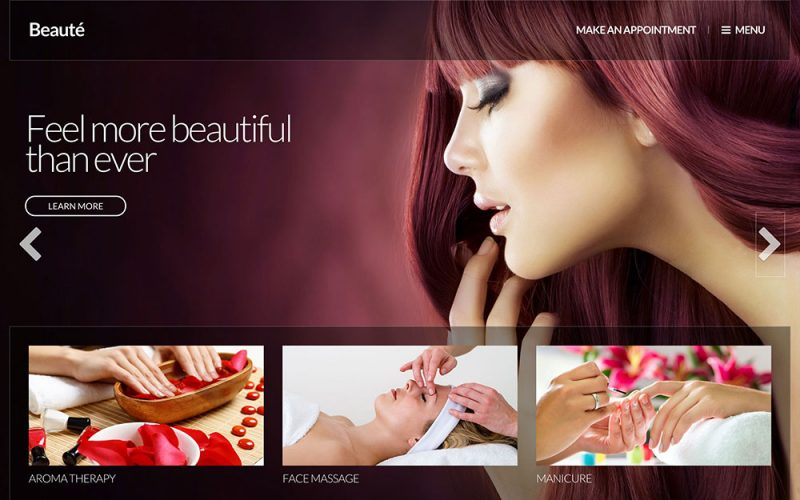 Beauté Beauty Salon WordPress Theme