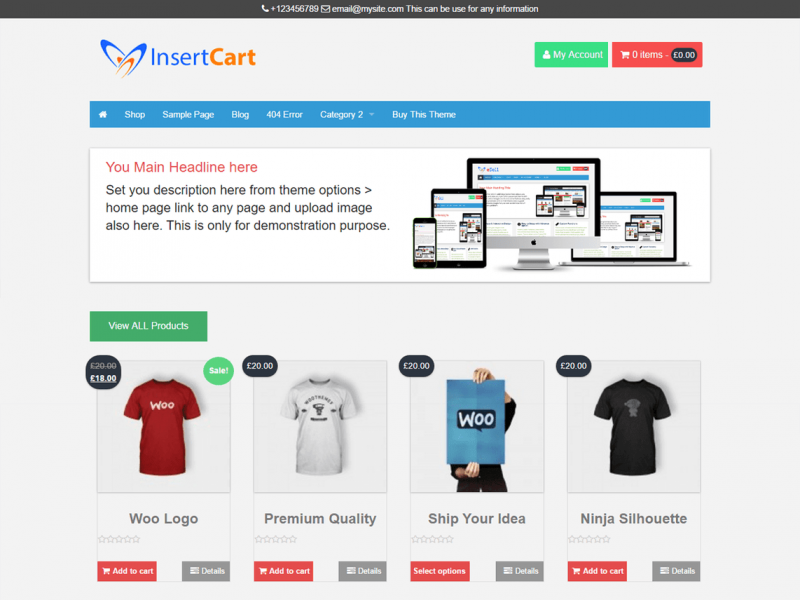 e-Sell WooCommerce Theme