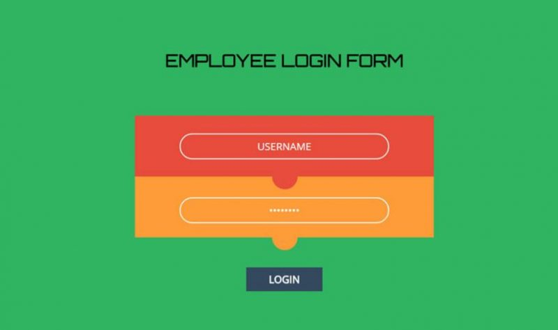 Employee Login Form