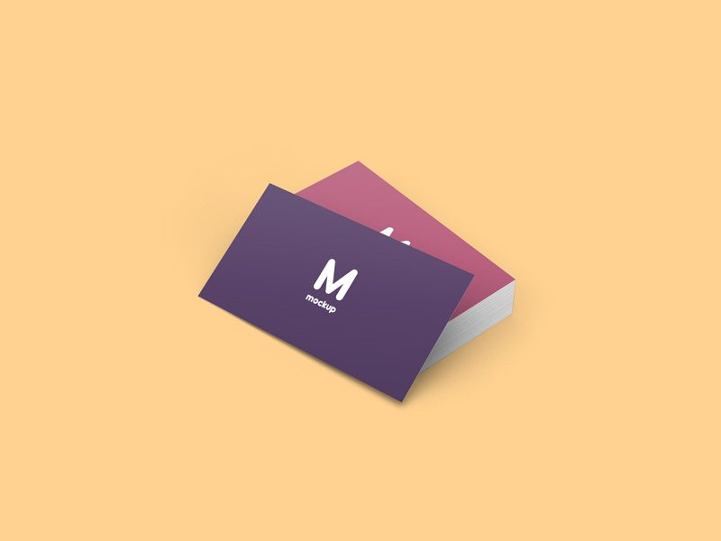Freebie Business Card Mockup