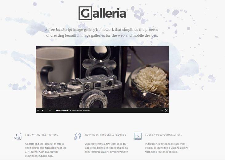 Galleria Slider