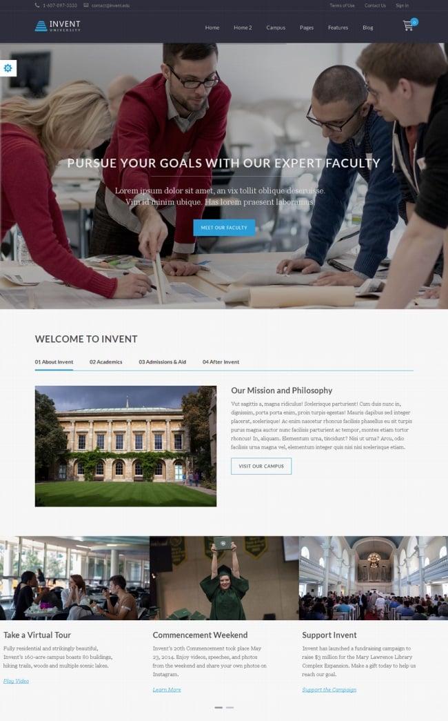 invent-education-wordpress-theme