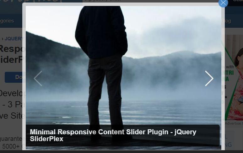 Responsive jQuery Image Sliders