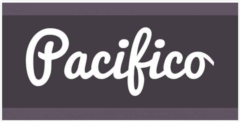 Pacifico Script Font