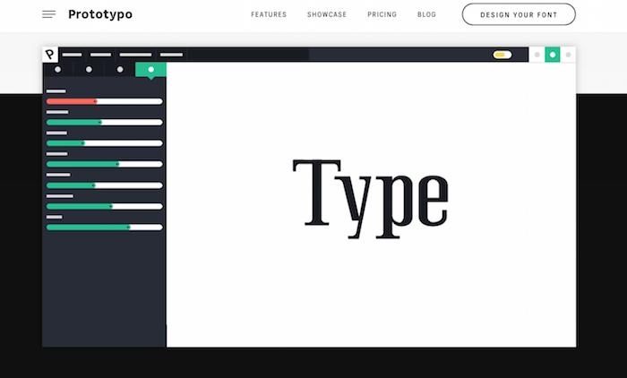 prototype font generator