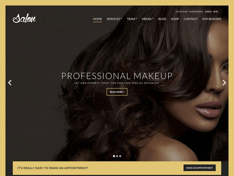 Salon Theme CSSigniter