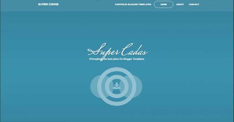 Super Cadas Blogger Template