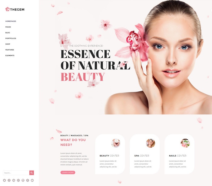 thegem-spa-website-template